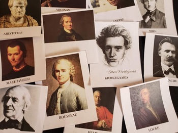 Philosophers Card Activity (Montessori-inspired) for Homeschool