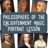 "Philosophers of the Enlightenment ""Magic Portrait"" Lesson"