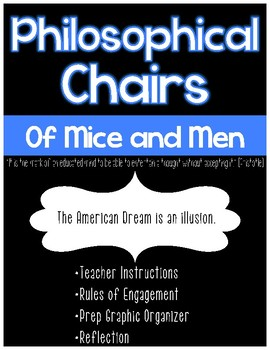 Philosophical Chairs: Is the American Dream an illusion?