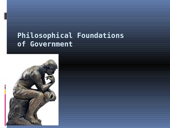 Philosophical Foundations of American Government