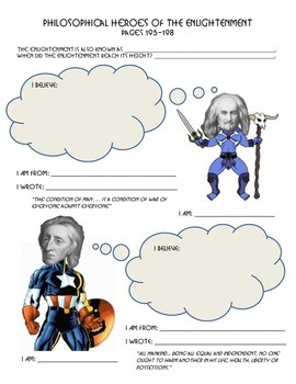 Philosophical Heroes of the Enlightenment