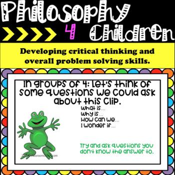 Philosophy 4 Children (P4C)