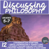 Philosophy- Middle/High School Conversation Starters Package