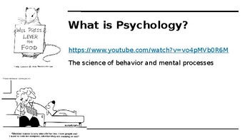Philosophy, Approaches and History of Psychology