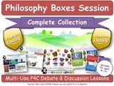 Philosophy Boxes - Complete Set (20 Lessons) (P4C - Philosophy For Children)