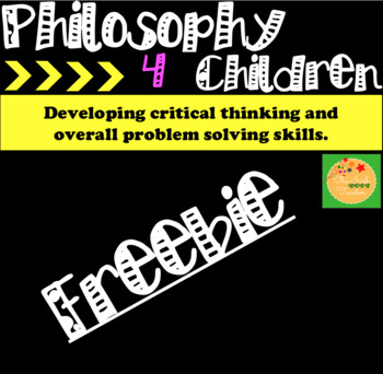 Philosophy For Children(P4C): 'How to' guide.
