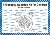 Philosophy Questions Kit Printable - 78 Question Cards with Discussion Guide