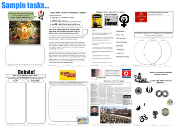 Philosophy & Religion WorkBook (P4C) [Debates, Discussions] Form (Tutor) Time