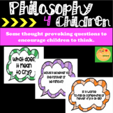 Philosophy for Children: Display Cards