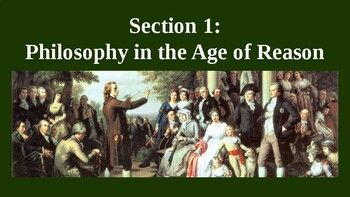 Philosophy in the Age of Reason PowerPoint