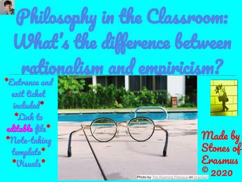 Philosophy in the Classroom: Empiricism versus Rationalism