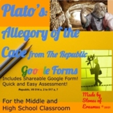 Philosophy in the Classroom: Plato's Allegory of the Cave Google Form Edition