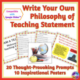 Philosophy of Teaching Statement: Describe Your Values & Beliefs About Education