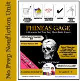 Phineas Gage Nonfiction Book Study Guide -- Includes DIGITAL file options!