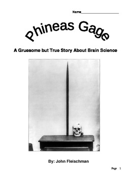 Phineas Gage Study Guide and Answer Packet