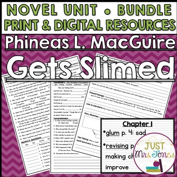 Phineas L. MacGuire Gets Slimed Novel Unit