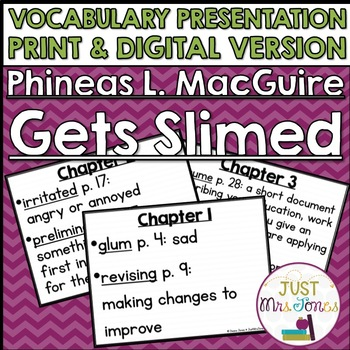 Phineas L. MacGuire Gets Slimed Vocabulary Presentation