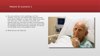 Phlebotomy Interactive PowerPoint Unit with Built-in Assessments