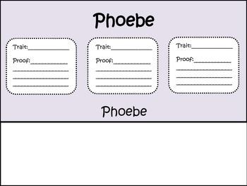 Phoebe The Spy Flip Book