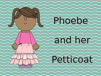 Phoebe and her petticoat - low la present slides