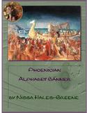 Phoenician Alphabet Banner