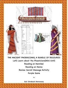 Phoenicians, A Bundle of Resources!