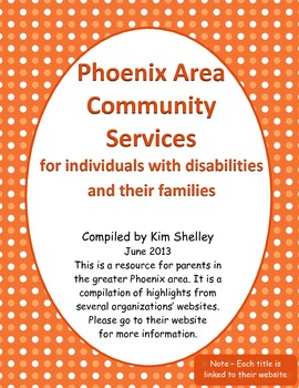 Phoenix Area Support for Families with Special Needs