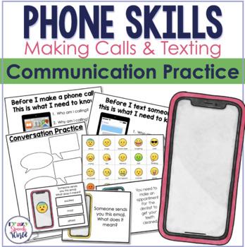 Phone A Friend! Communication Skills Activity