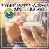 Phone App Notification Algebra and Stats Study