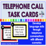 Phone Call Task Cards: For Speech and Language Students