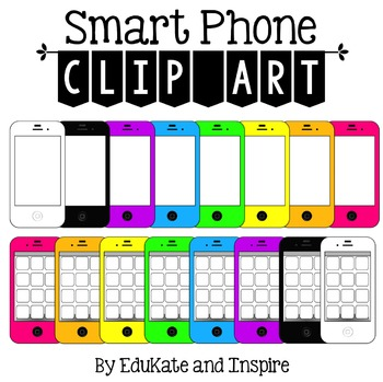 Smart Phone Clip Art