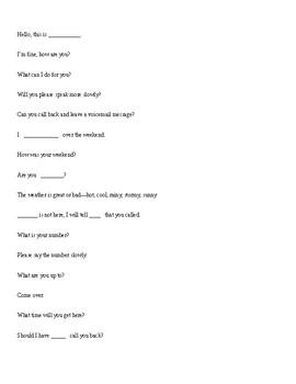 Phone call assignment/speech phone talk