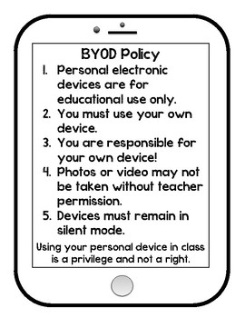 Phone/Technology Policy