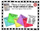 Phone a Friend Partner Cards for Target Adhesive Square Po