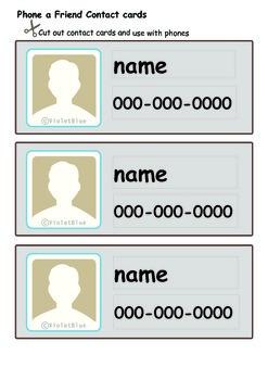 Maths Centre Game: Phone a friend- A numeral identification 0-9 (Kindergarten)