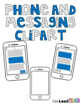 Phone and Messaging Clipart