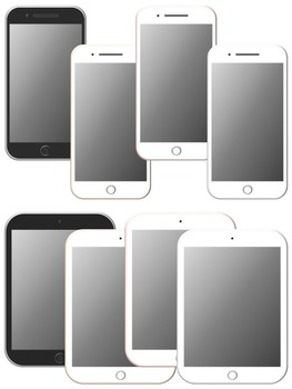 Phone and Tablet Clipart