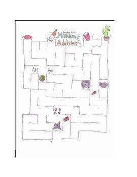 Phoneme Addition Maze