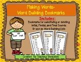 Making Words - Word Building Bookmarks Set 1