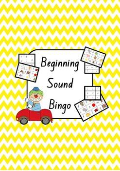 Beginning Sound Bingo - Phoneme Chart and 66 Bingo Boards!