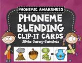 Phoneme Blending Clip It Cards