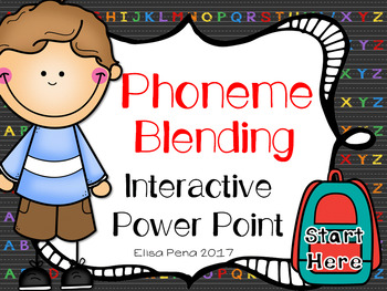 Phoneme Blending Interactive Power Point
