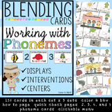 Phoneme Blending Intervention - Center - Display Cards