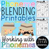 Phoneme Blending Printables
