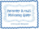 Phoneme Blends Matching Game