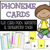 Phoneme Cards and Sequencing Chart