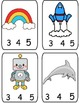 Phoneme Count and Clip Cards (2,3,4 and 5 phonemes)