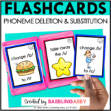 Phoneme Deletion and Substitution Flashcards | Taskcards