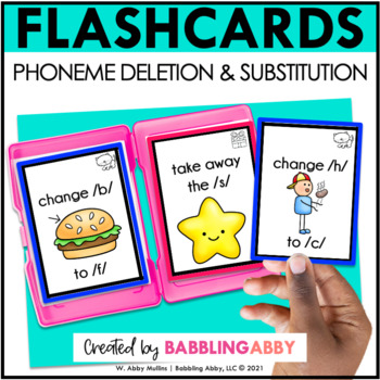 Phoneme Deletion and Substitution Flashcards   Taskcards