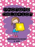 Phoneme Deletion - Phonological Awareness Mini-Lesson